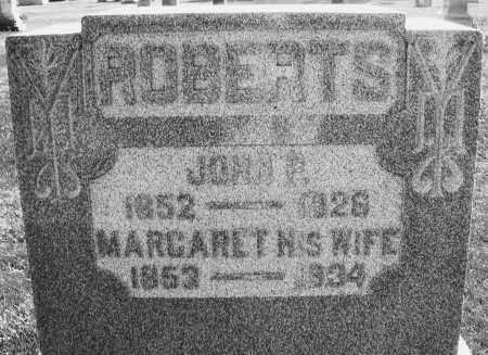 ROBERTS, JOHN P. - Darke County, Ohio | JOHN P. ROBERTS - Ohio Gravestone Photos