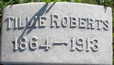 ROBERTS, TILLIE - Darke County, Ohio   TILLIE ROBERTS - Ohio Gravestone Photos