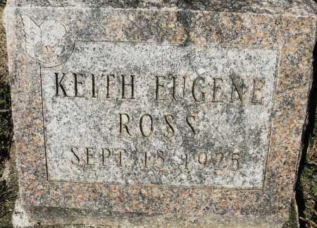 ROSS, KEITH EUGENE - Darke County, Ohio | KEITH EUGENE ROSS - Ohio Gravestone Photos