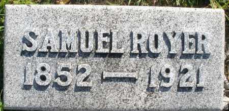 ROYER, SAMUEL - Darke County, Ohio | SAMUEL ROYER - Ohio Gravestone Photos