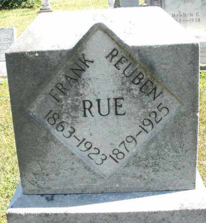 RUE, REUBEN - Darke County, Ohio | REUBEN RUE - Ohio Gravestone Photos