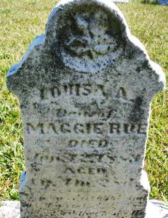 RUE, LOUISA A. - Darke County, Ohio | LOUISA A. RUE - Ohio Gravestone Photos