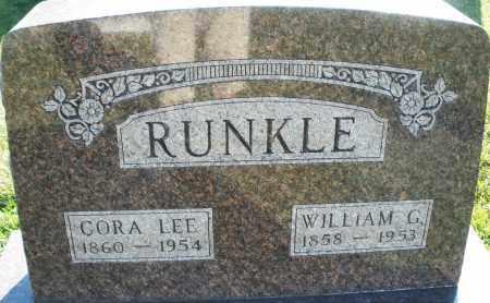 RUNKLE, WILLIAM G. - Darke County, Ohio | WILLIAM G. RUNKLE - Ohio Gravestone Photos
