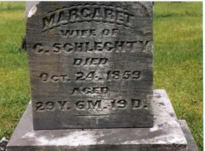 SCHLECHTY, MARGARET - Darke County, Ohio | MARGARET SCHLECHTY - Ohio Gravestone Photos