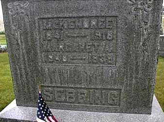 SEBRING, MCKENDREE - Darke County, Ohio   MCKENDREE SEBRING - Ohio Gravestone Photos