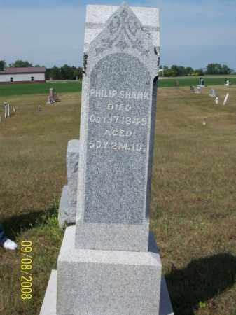 SHANK, PHILIP - Darke County, Ohio   PHILIP SHANK - Ohio Gravestone Photos