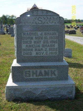SHANK, RACHEL JANE - Darke County, Ohio   RACHEL JANE SHANK - Ohio Gravestone Photos