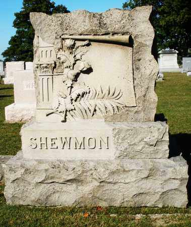 SHEWMON, MONUMENT - Darke County, Ohio   MONUMENT SHEWMON - Ohio Gravestone Photos