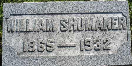 SHUMAKER, WILLIAM - Darke County, Ohio | WILLIAM SHUMAKER - Ohio Gravestone Photos