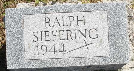 SIEFERING, RALPH - Darke County, Ohio | RALPH SIEFERING - Ohio Gravestone Photos