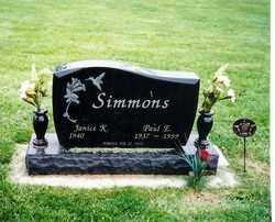 SIMMONS, PAUL E - Darke County, Ohio | PAUL E SIMMONS - Ohio Gravestone Photos