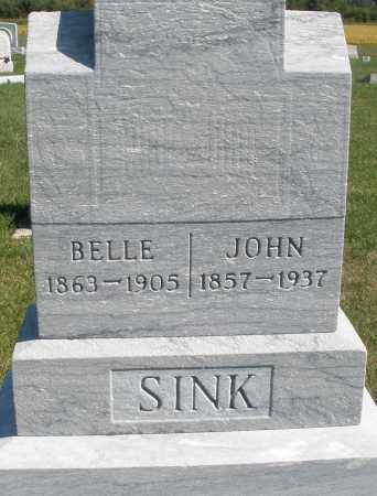SINK, JOHN - Darke County, Ohio | JOHN SINK - Ohio Gravestone Photos