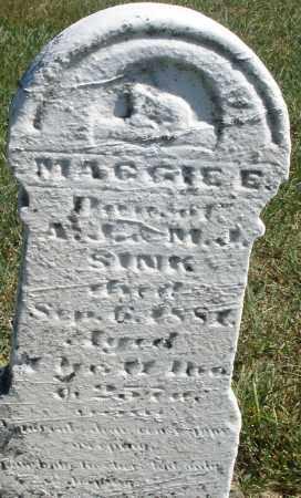 SINK, MAGGIE E. - Darke County, Ohio | MAGGIE E. SINK - Ohio Gravestone Photos