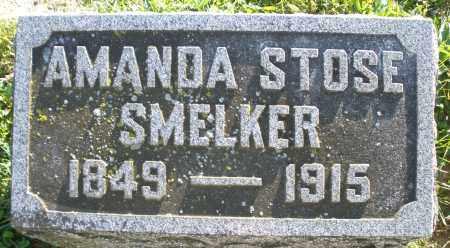 STOSE SMELKER, AMANDA - Darke County, Ohio | AMANDA STOSE SMELKER - Ohio Gravestone Photos