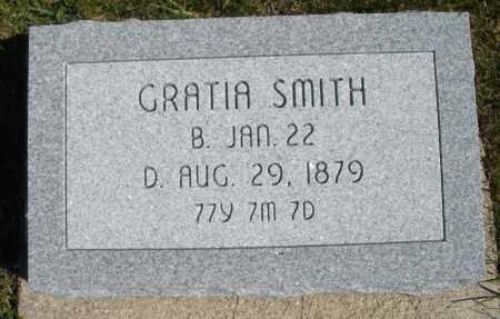 SMITH, GRATIA - Darke County, Ohio | GRATIA SMITH - Ohio Gravestone Photos