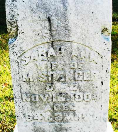 SPENCER, SARAH ANN - Darke County, Ohio | SARAH ANN SPENCER - Ohio Gravestone Photos