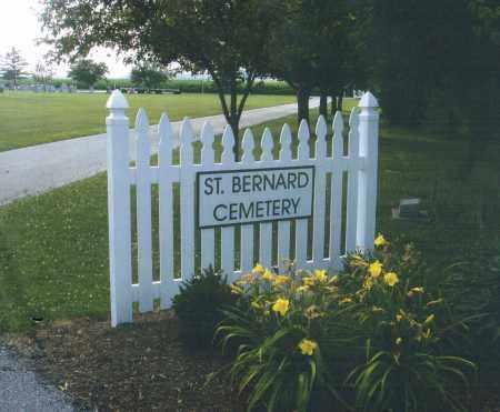 ST. BERNARD, CEMETERY - Darke County, Ohio | CEMETERY ST. BERNARD - Ohio Gravestone Photos