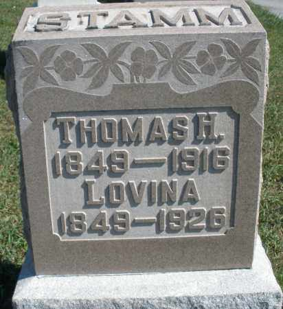 STAMM, LOVINA - Darke County, Ohio | LOVINA STAMM - Ohio Gravestone Photos