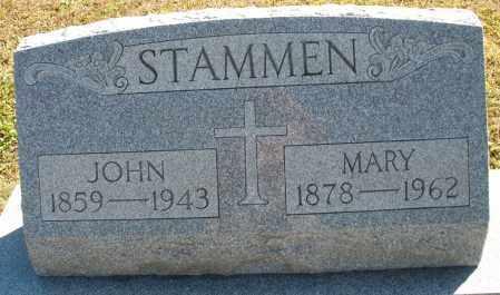 STAMMEN, MARY - Darke County, Ohio | MARY STAMMEN - Ohio Gravestone Photos