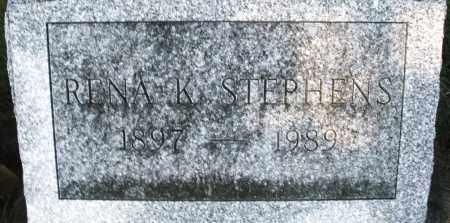 STEPHENS, RENA K. - Darke County, Ohio | RENA K. STEPHENS - Ohio Gravestone Photos