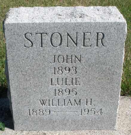 STONER, WILLIAM H. - Darke County, Ohio   WILLIAM H. STONER - Ohio Gravestone Photos