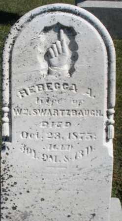 SWARTZBAUGH, REBECCA A. - Darke County, Ohio | REBECCA A. SWARTZBAUGH - Ohio Gravestone Photos