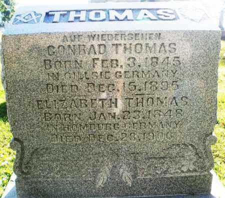 THOMAS, CONRAD - Darke County, Ohio | CONRAD THOMAS - Ohio Gravestone Photos