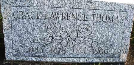 LAWRENCE THOMAS, GRACE - Darke County, Ohio   GRACE LAWRENCE THOMAS - Ohio Gravestone Photos