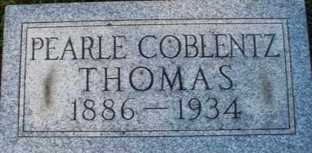 COBLENTZ THOMAS, PEARLE - Darke County, Ohio | PEARLE COBLENTZ THOMAS - Ohio Gravestone Photos