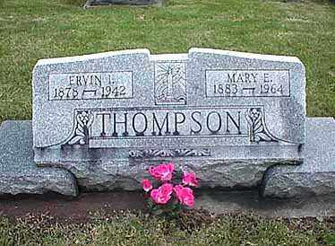 THOMPSON, MARY E. - Darke County, Ohio | MARY E. THOMPSON - Ohio Gravestone Photos