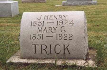 LOY TRICK, MARY CATHERINE - Darke County, Ohio | MARY CATHERINE LOY TRICK - Ohio Gravestone Photos