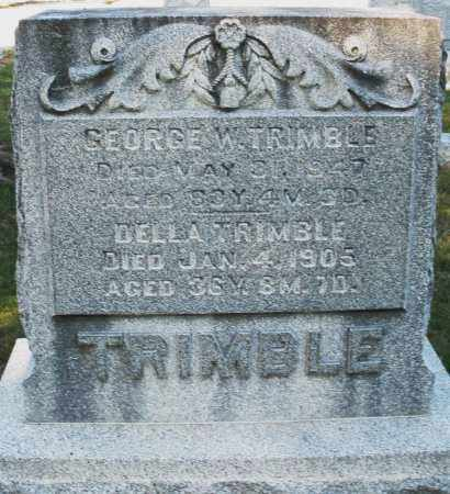 TRIMBLE, DELLA - Darke County, Ohio | DELLA TRIMBLE - Ohio Gravestone Photos