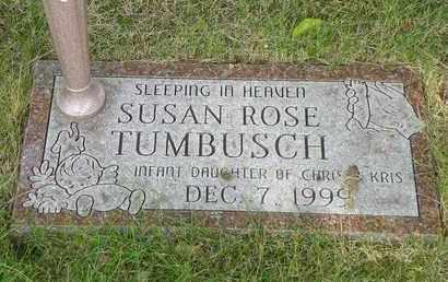 TUMBUSCH, SUSAN ROSE - Darke County, Ohio | SUSAN ROSE TUMBUSCH - Ohio Gravestone Photos