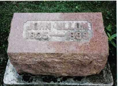 ULLOM, JOHN - Darke County, Ohio   JOHN ULLOM - Ohio Gravestone Photos