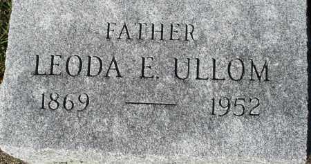 ULLOM, LEODA E. - Darke County, Ohio | LEODA E. ULLOM - Ohio Gravestone Photos