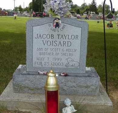 VOISARD, JACOB TAYLOR - Darke County, Ohio | JACOB TAYLOR VOISARD - Ohio Gravestone Photos