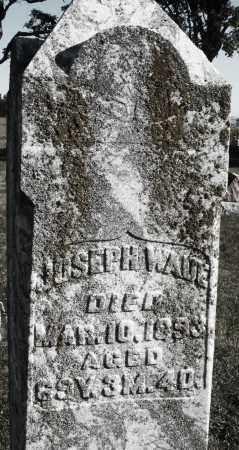 WADE, JOSEPH - Darke County, Ohio | JOSEPH WADE - Ohio Gravestone Photos