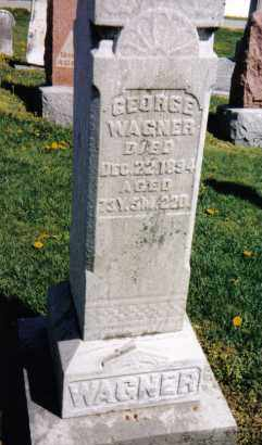 WAGNER, GEORGE - Darke County, Ohio | GEORGE WAGNER - Ohio Gravestone Photos