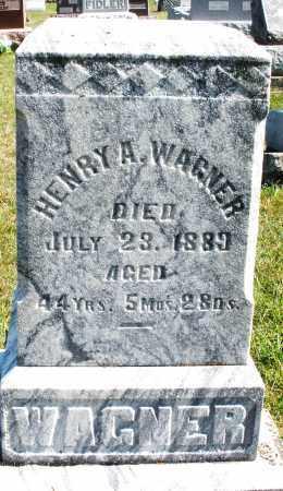 WAGNER, HENRY A. - Darke County, Ohio | HENRY A. WAGNER - Ohio Gravestone Photos