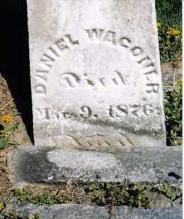 WAGONER, DANIEL - Darke County, Ohio   DANIEL WAGONER - Ohio Gravestone Photos