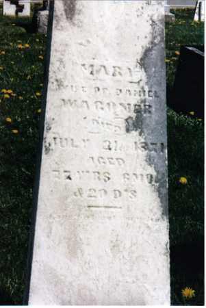 WAGONER, MARY - Darke County, Ohio   MARY WAGONER - Ohio Gravestone Photos