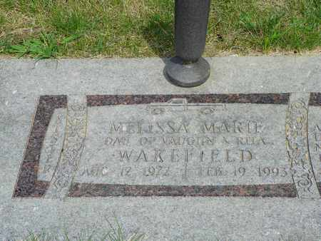 WAKEFIELD, MELISSA MARIE - Darke County, Ohio   MELISSA MARIE WAKEFIELD - Ohio Gravestone Photos