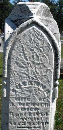 WEAVER, SUSANNA - Darke County, Ohio | SUSANNA WEAVER - Ohio Gravestone Photos