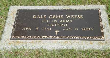 WEESE, DALE GENE - Darke County, Ohio   DALE GENE WEESE - Ohio Gravestone Photos