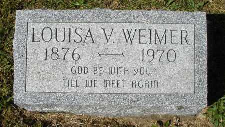 WEIMER, LOUISA V. - Darke County, Ohio | LOUISA V. WEIMER - Ohio Gravestone Photos