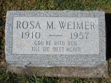 WEIMER, ROSA M. - Darke County, Ohio   ROSA M. WEIMER - Ohio Gravestone Photos