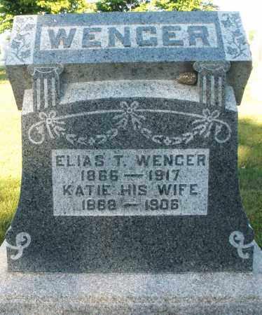 WENGER, ELIAS T. - Darke County, Ohio | ELIAS T. WENGER - Ohio Gravestone Photos