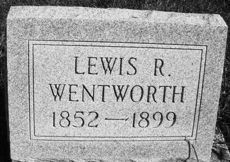 WENTWORTH, LEWIS R. - Darke County, Ohio | LEWIS R. WENTWORTH - Ohio Gravestone Photos