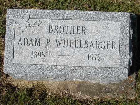 WHEELBARGER, ADAM P. - Darke County, Ohio | ADAM P. WHEELBARGER - Ohio Gravestone Photos