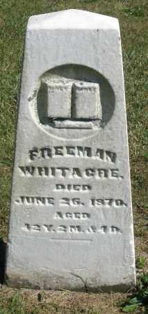 WHITACRE, FREEMAN - Darke County, Ohio   FREEMAN WHITACRE - Ohio Gravestone Photos